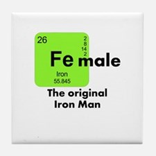 Iron Man Tile Coaster