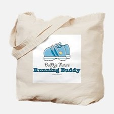 Daddy's Running Buddy Shoes Tote Bag