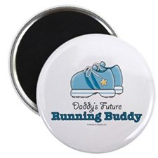 Daddy's Running Buddy Shoes Magnet