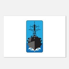 GUIDED MISSILE CRUISER Postcards (Package of 8)