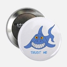 "Trust Me Shark 2.25"" Button (10 pack)"