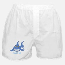 Trust Me Shark Boxer Shorts