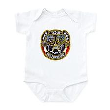 USS PORTLAND Infant Creeper