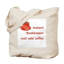 Instant Bookkeeper Tote Bag