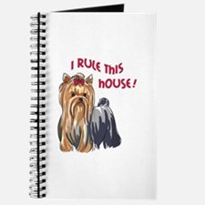 I RULE THIS HOUSE Journal