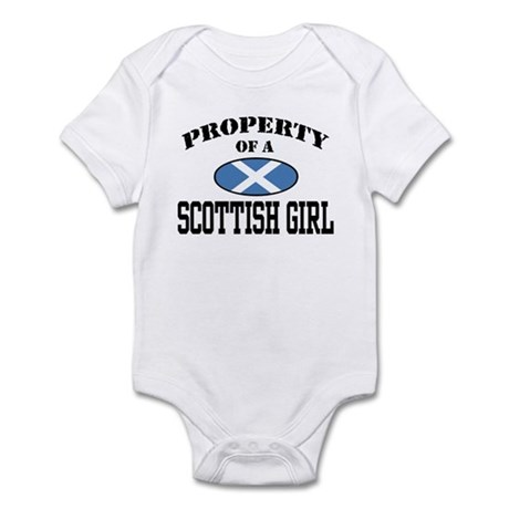 Property of a Scottish Girl Infant Bodysuit