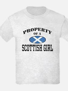 Property of a Scottish Girl T-Shirt
