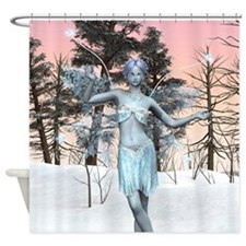 Ice Fairy Shower Curtain