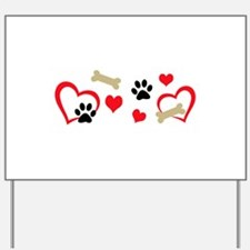 DOG THEME HORIZONTAL Yard Sign