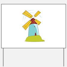 Windmill Yard Sign