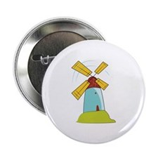 "Windmill 2.25"" Button (100 pack)"