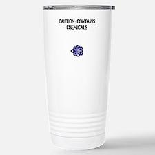 """""""Caution: Contains Travel Mug"""