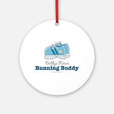 Daddy's Running Buddy Shoe Runners Gift Ornament