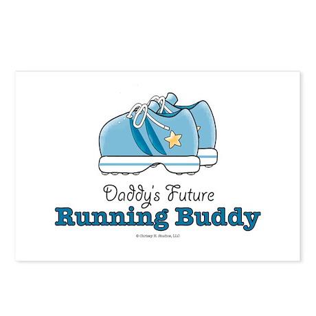 Daddy's Future Running Buddy Postcards 8 pk