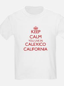 Keep calm you live in Calexico California T-Shirt