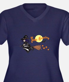 WITCH GONE HAUNTING Plus Size T-Shirt