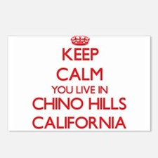 Keep calm you live in Chi Postcards (Package of 8)