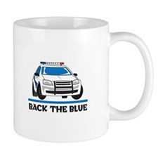 BACK THE BLUE Mugs