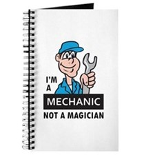 MECHANIC NOT A MAGICIAN Journal