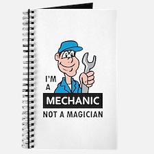 MECHANIC NOT A MAGICIAN Journal