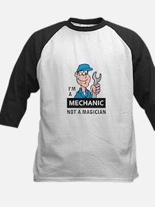 MECHANIC NOT A MAGICIAN Baseball Jersey