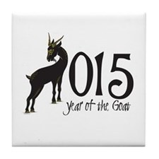 Year of the Goat 2015 Tile Coaster