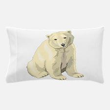 Baby Polar Bear Pillow Case