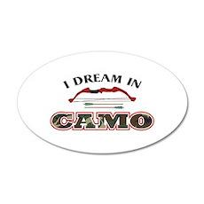 I DREAM IN GAMO Wall Decal