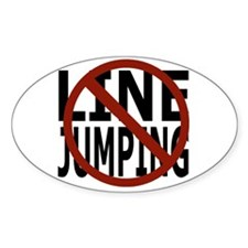 Anti-Line Jumping Decal