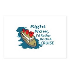 RATHER BE ON A CRUISE Postcards (Package of 8)