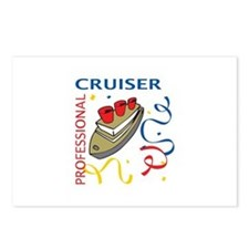 PROFESSIONAL CRUISER Postcards (Package of 8)