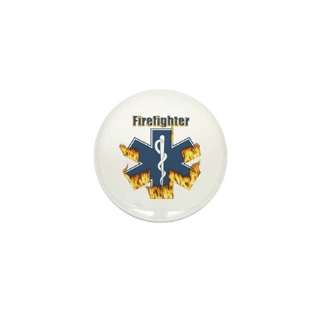 Firefighter Gifts Mini Button (10 pack)