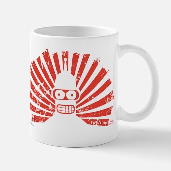 Futurama Bender Rays Mug