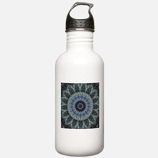 Blue Mindfulness and M Water Bottle