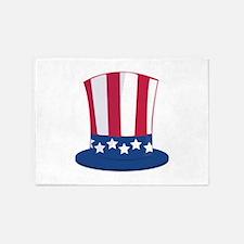 Uncle Sam Hat 5'x7'Area Rug