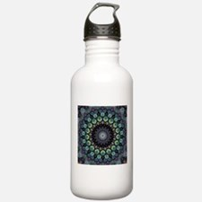 Peacock Strut Through Water Bottle