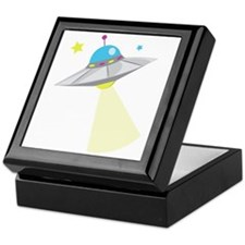 UFO Keepsake Box
