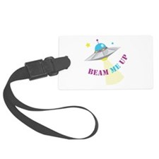 Beam Me Up Luggage Tag