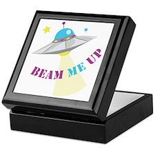 Beam Me Up Keepsake Box