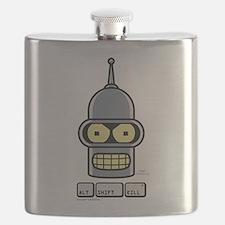 Futurama Alt Shift Kill Flask