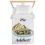 Pie Addict Twin Duvet