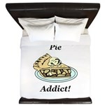 Pie Addict King Duvet