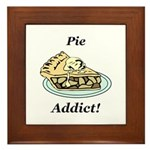 Pie Addict Framed Tile