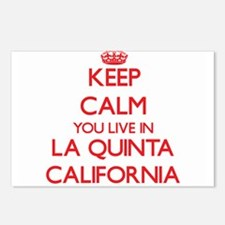 Keep calm you live in La Postcards (Package of 8)