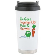 Peas And Carrots Travel Mug