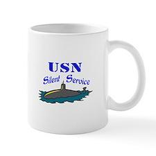 USN SILENT SERVICE Mugs