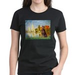 Regatta / Red Doberman Women's Dark T-Shirt