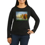 Regatta / Red Doberman Women's Long Sleeve Dark T-
