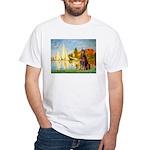 Regatta / Red Doberman White T-Shirt
