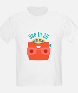 See In 3D T-Shirt